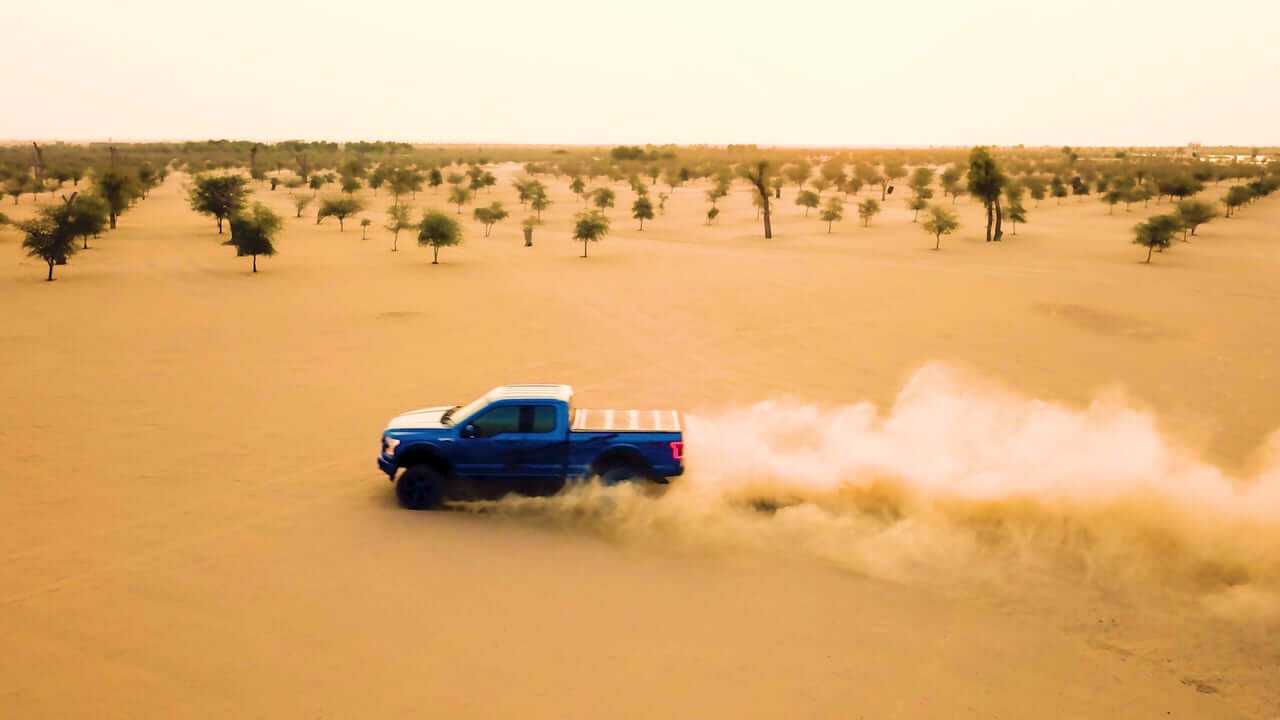 FORD RIPPING UP DESERT