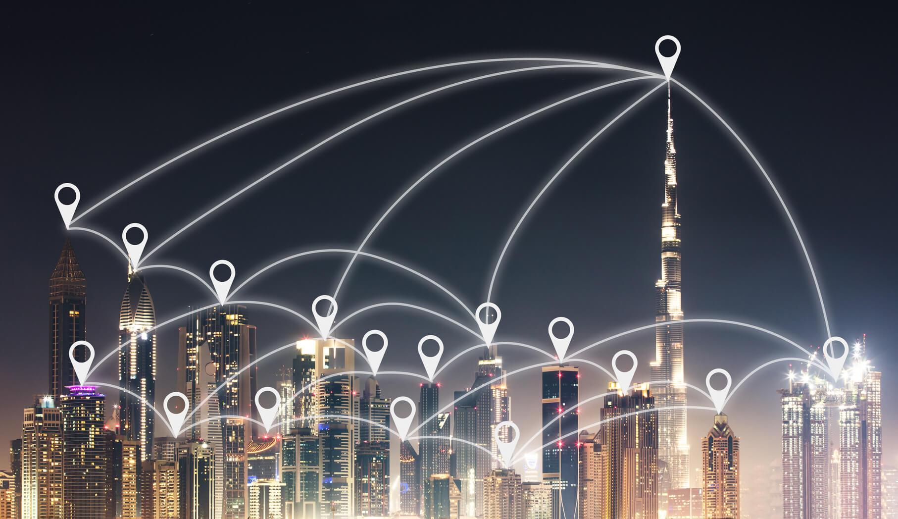 Drones Role in Dubai Smart City