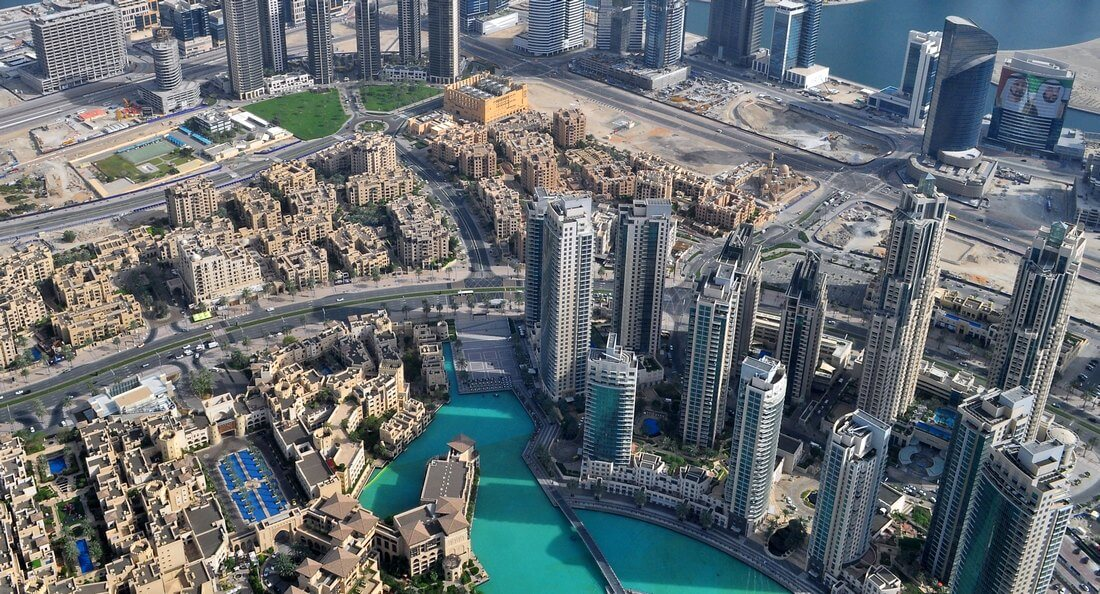 corporate video production Dubai drones