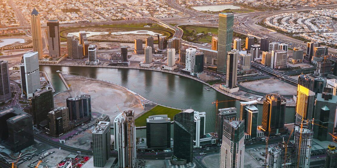 aerial photography dubai
