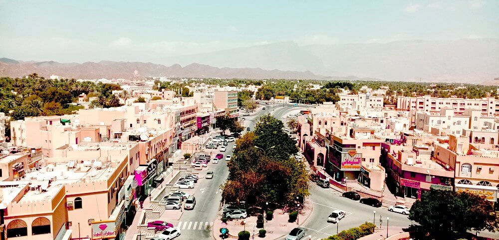 drone company Oman